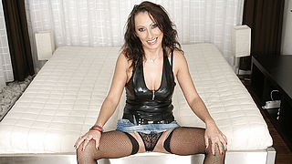 MILF Athena gets it hard and long