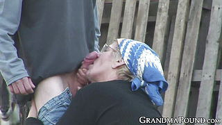 Mature village lady fucked by local womanizer