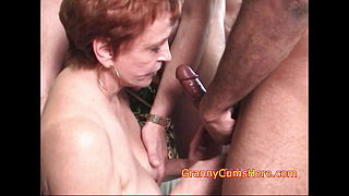 This GRANNY loves DICKS