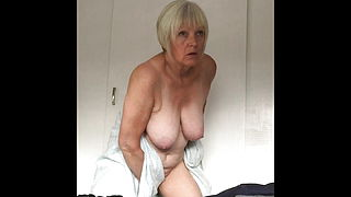 Naked Sexy Granny Dressing