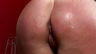 Humilated German HugeBoobsMilf hard anal taken