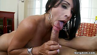 Isabel in Bored and lonely wife fucks a guy half her