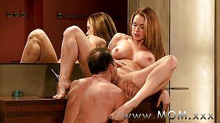 MOM MILFs with big breasts getting fucked