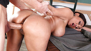 Priya Anjali Rai and Chris Johnson in My First Sex Teacher