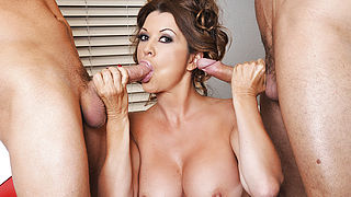 Raquel DeVine and Danny Mountain and Van Wylde in My Friends Hot Mom