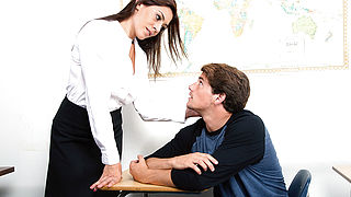 Raylene and Tyler Nixon in My First Sex Teacher