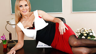 Tanya Tate and James Deen in My First Sex Teacher
