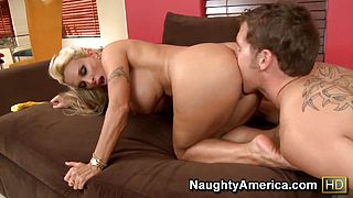 Brutal deep anal with sexy mature Holly Halston