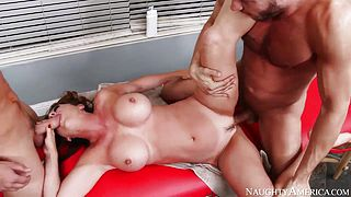 Danny Mountain Raquel Devine and Van Wylde fuck
