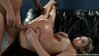 Extreme ass to mouth fuck of filthy Abbey Brooks
