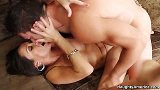 Johnny Castle fucks lusty milf Michelle Lay