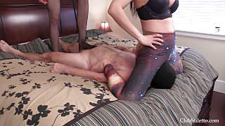 Ballbusting and Facesitting
