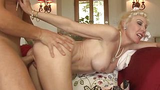 Cougar Assfucked by new Son in Law