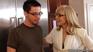 Nina catches her sons friend
