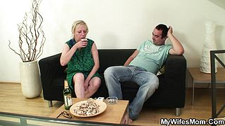 Wife leaves and motherinlaw seduces him