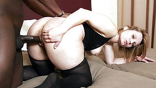 Granny Magda DoggyFucking a Black Cock