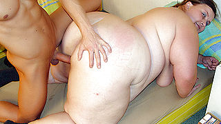 Fat Older Gal Mitzi Fucked Hard